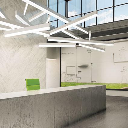 Luminaires suspendus design moderne